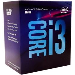 CPU Intel Core i3-8100 (3.6Ghz, 4 nhân, 4 luồng, 6MB Cache, 65W) - LGA 1151