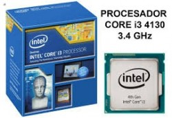 Intel Core i3-4130 (SR1NP) 3.40Ghz Dual (2) Core LGA1150 54W CPU