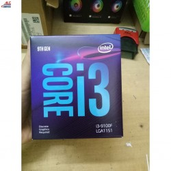 CPU Core i3-9100F SRF7W